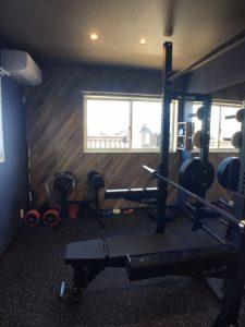 H様邸 トレーニングルーム改修工事